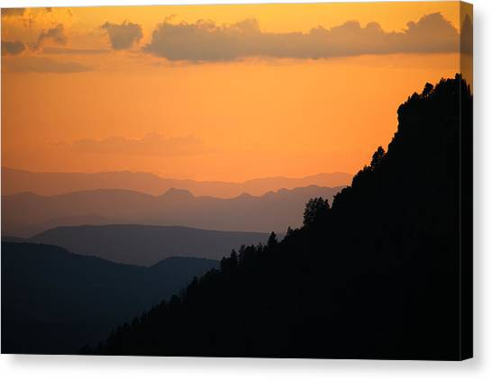 Canvas Print featuring the photograph End Of The Day by Brad Brizek