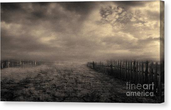 End Of The Way Canvas Print