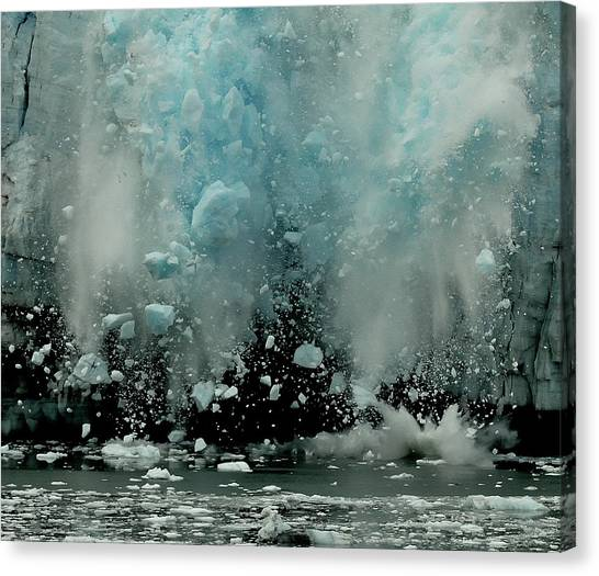 Global Warming Canvas Print - End Of The World ? by Yair Tzur