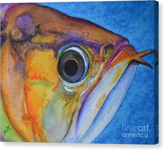 Endangered Eye IIi Canvas Print