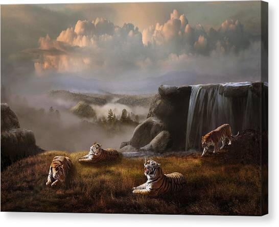 Canvas Print featuring the photograph Endangered by Melinda Hughes-Berland