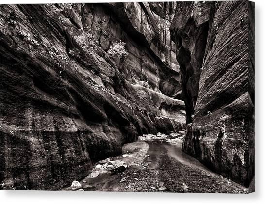 Endless Narrows Canvas Print by Juan Carlos Diaz Parra