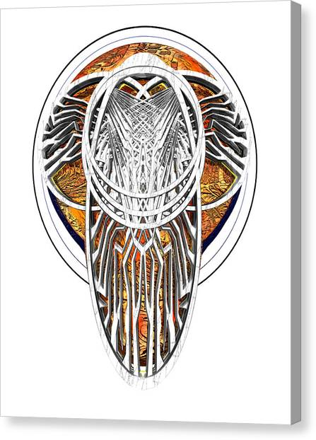 Endomay B 7 Canvas Print