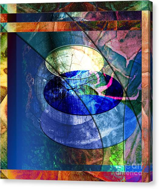 Energy Force Canvas Print