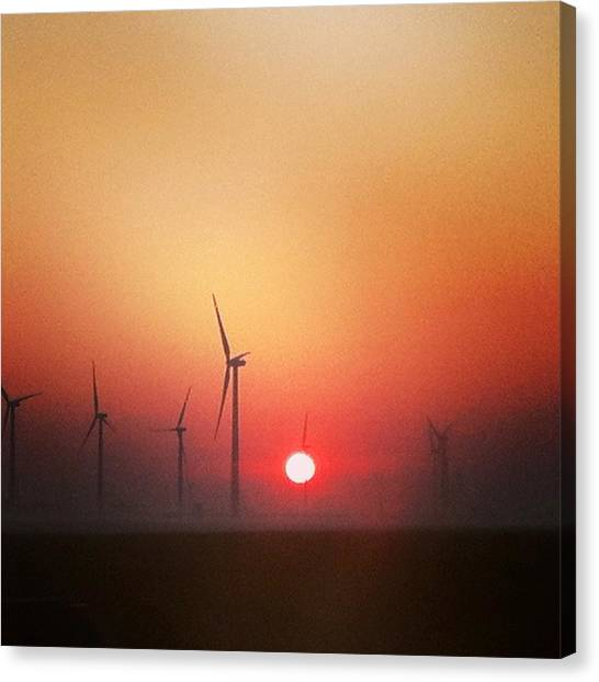 Energy Canvas Print by Jake Harral