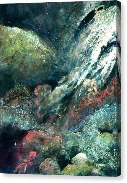 Energy Left Canvas Print