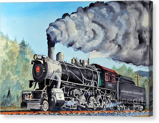 Engine 475 Canvas Print