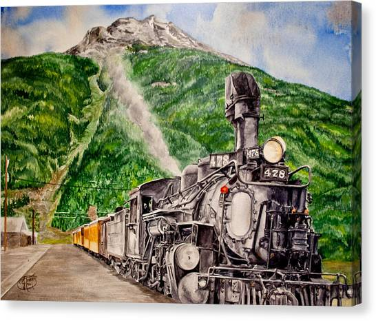 Engine 478 Canvas Print