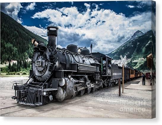 Engine 481 Canvas Print