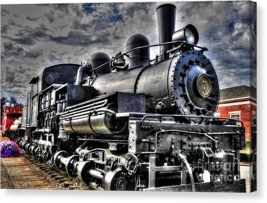 Engine No 7 Canvas Print