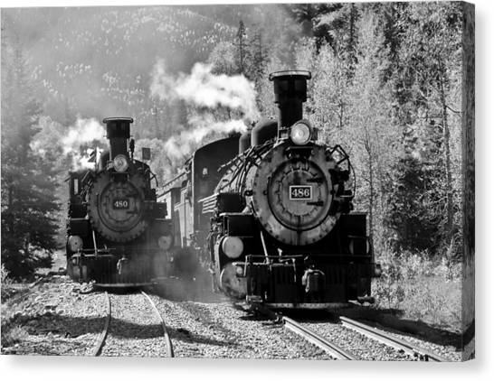 Engines 480 And 486 Canvas Print