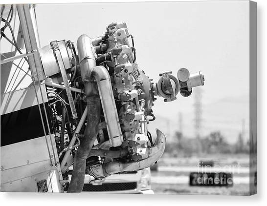 Engines Ready Canvas Print by Mkaz Photography