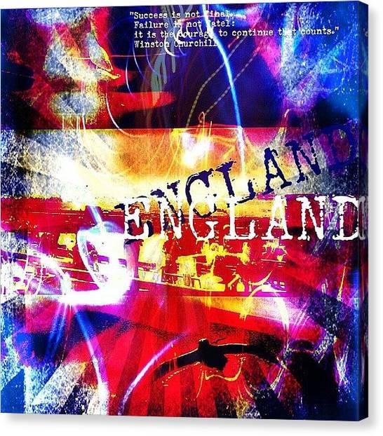 Bands Canvas Print - England by Chris Drake