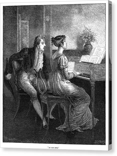 Harpsichords Canvas Print - England Couple by Granger
