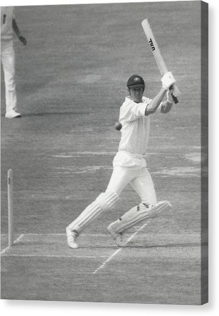 England V Australia At Lords Canvas Print by Retro Images Archive