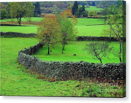 English Autumn Canvas Print