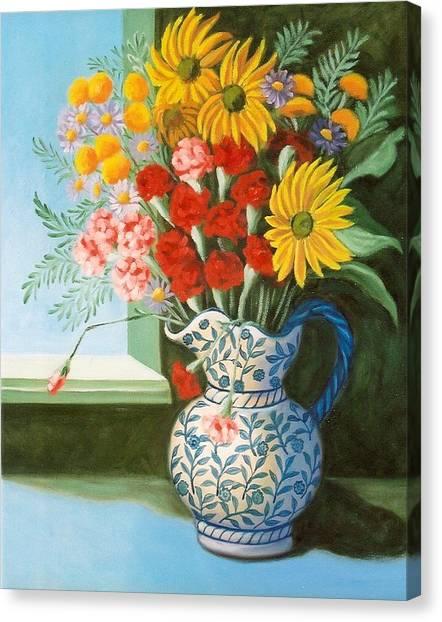 English Bouquet Canvas Print