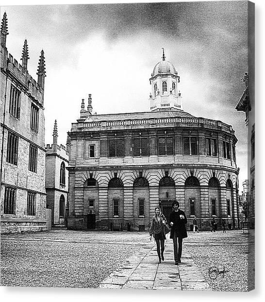 United Kingdom Canvas Print - English College by Gina ODonoghue