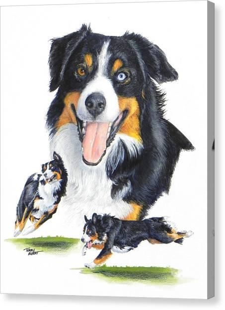English Shepherd Canvas Print