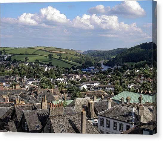 English Village Canvas Print