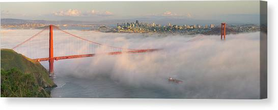 Engulfed Canvas Print by David Scarbrough