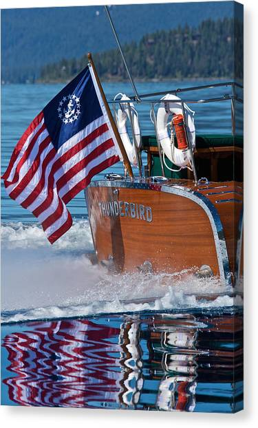 How Proud - Happy 4th Canvas Print