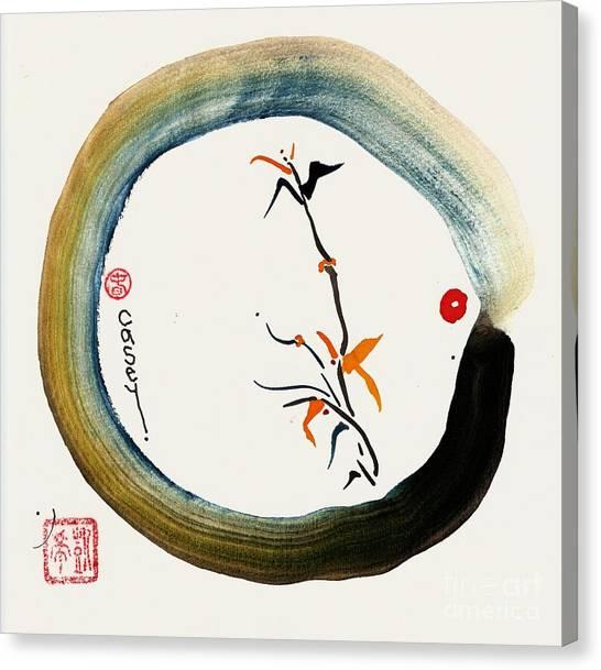 Enso Spring Canvas Print