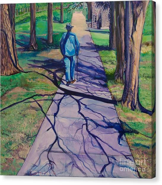 Entanglement On Highway 98' Canvas Print
