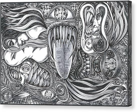 Enter My World Canvas Print