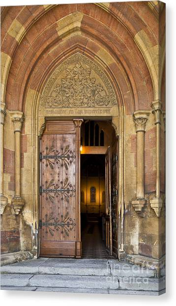 Enter The House Of God Canvas Print