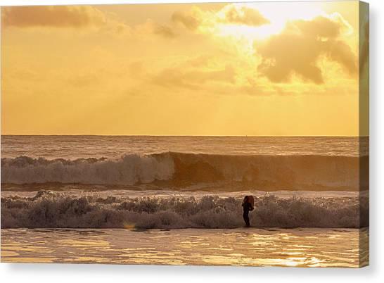 Enter The Surfer Canvas Print