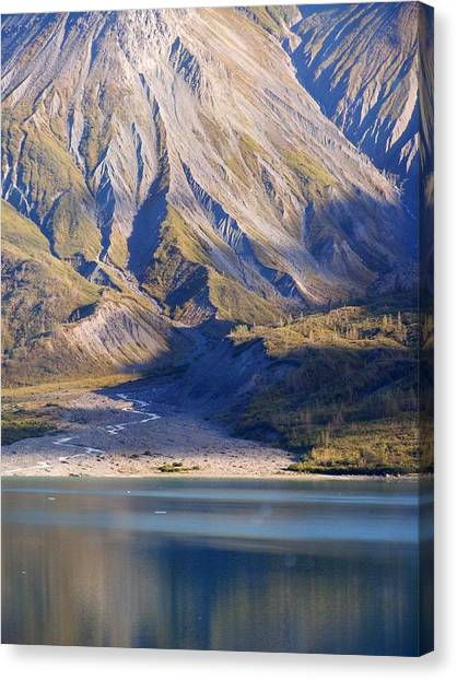 Entering Glacier Bay Alaska Canvas Print