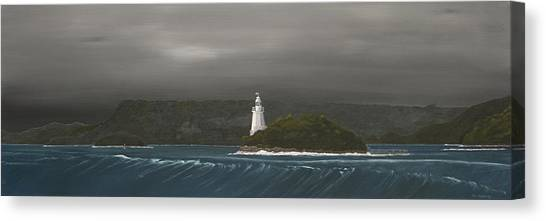 Entrance To Macquarie Harbour - Tasmania Canvas Print