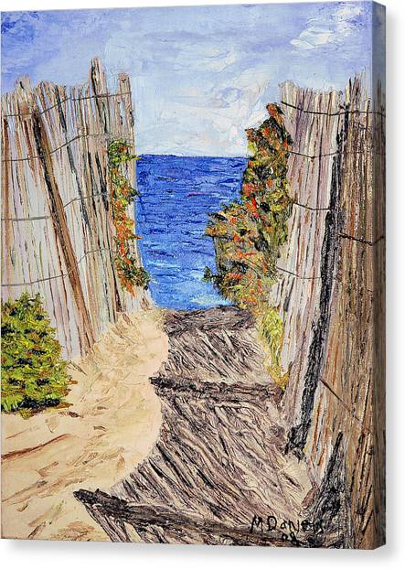 Entrance To Summer Canvas Print
