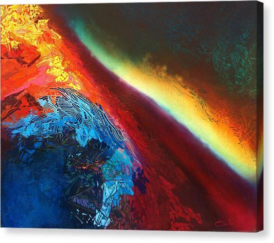 Entre Deux-mondes Canvas Print by Bielen Andre
