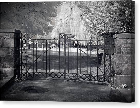 Entry To Salem Willows Canvas Print