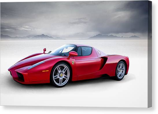 Ferrari Canvas Print - Enzo by Douglas Pittman