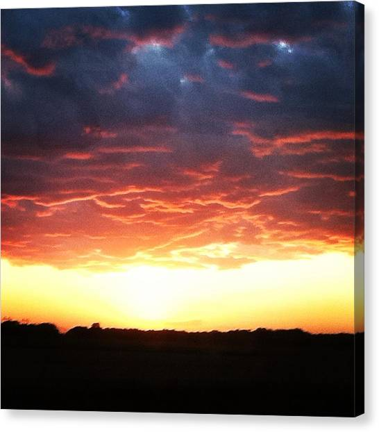 Epic Sunset  Canvas Print by Jake Harral