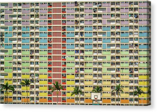Hong Kong Canvas Print - Equalizer by Fahad Abdualhameid