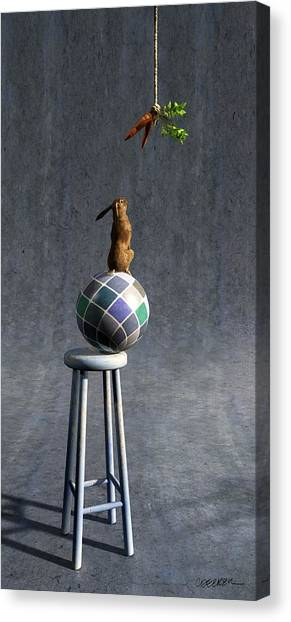 Carrots Canvas Print - Equilibrium II by Cynthia Decker