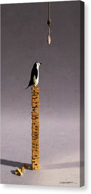 Block Canvas Print - Equilibrium V by Cynthia Decker