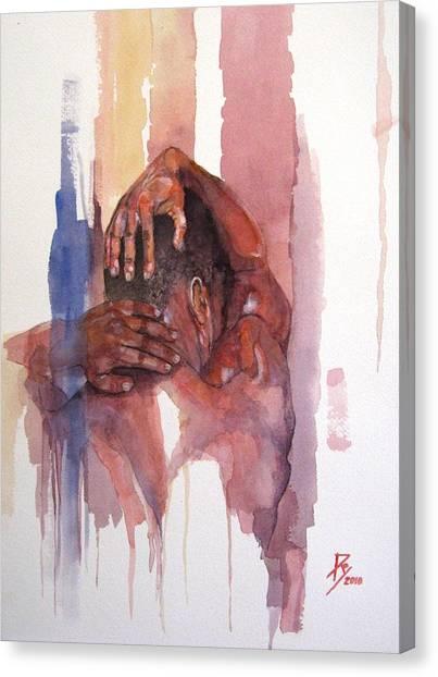 Erasto Man Of Peace Canvas Print