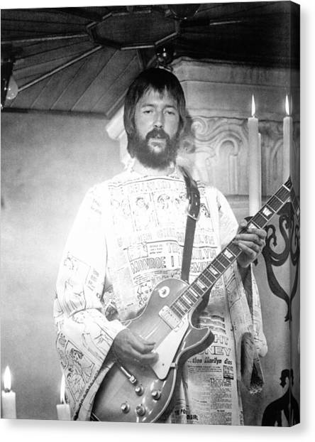 Eric Clapton Canvas Print - Eric Clapton In Tommy  by Silver Screen