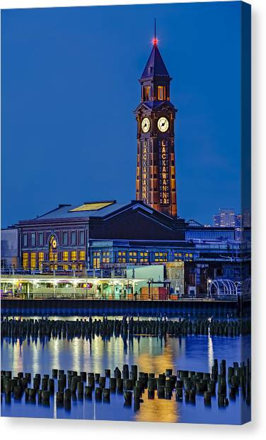 Erie Lackawanna Terminal Hoboken Canvas Print