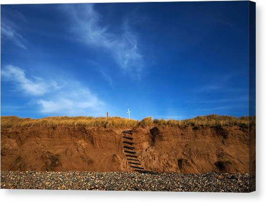 Waterford Canvas Print - Eroded Low Cliffs, Tramore, County by Panoramic Images