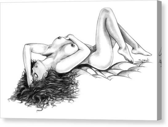 Erotic Dreams By Spano Canvas Print