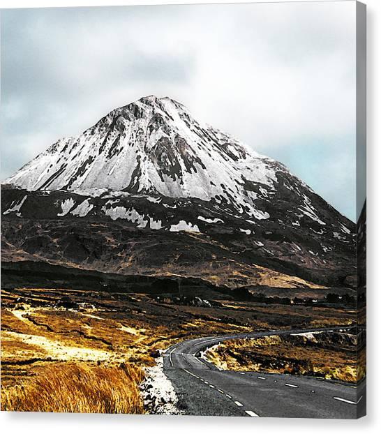 Errigal Donegal Ireland Canvas Print