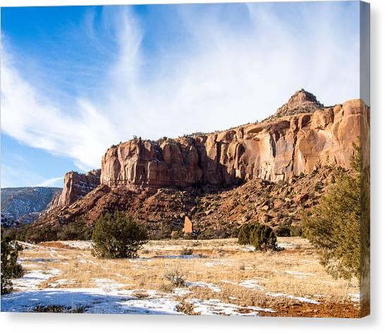 Escalante Canyon Canvas Print