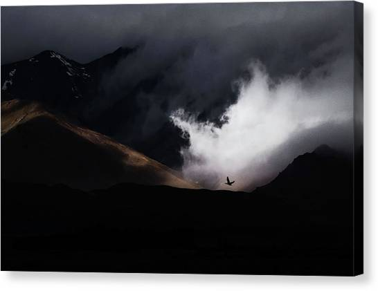 Calm Canvas Print - Escape by Artfiction (andre Gehrmann)