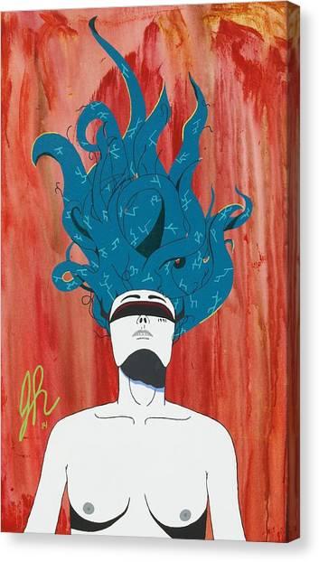 Escape Canvas Print by Jeremy Roark